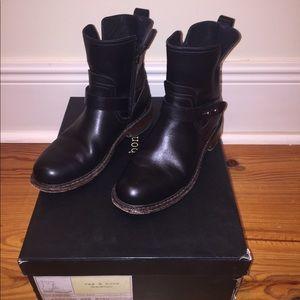 Rag & Bone Ashford Moto boots